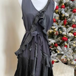 GAP Size 8 Tall Black Flapper Style Dress